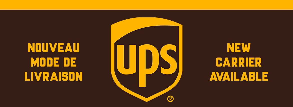 New carrier: UPS !